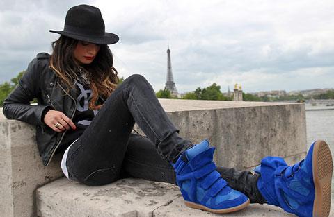 A febre dos sneakers - Imagem: Lookbook.nu