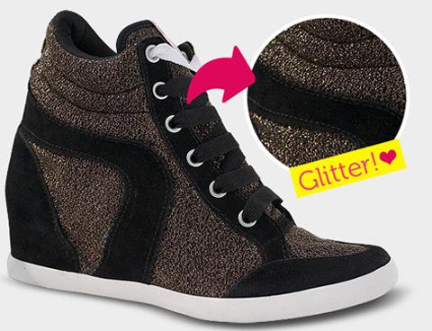 Linha Sneaker, modelo Bright da Capricho