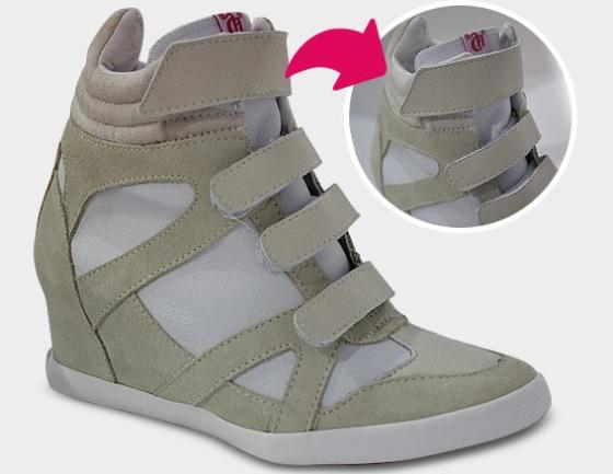 Linha Sneaker, modelo Velcro da Capricho