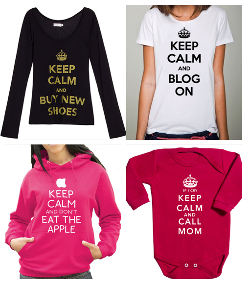 A moda do Keep Calm