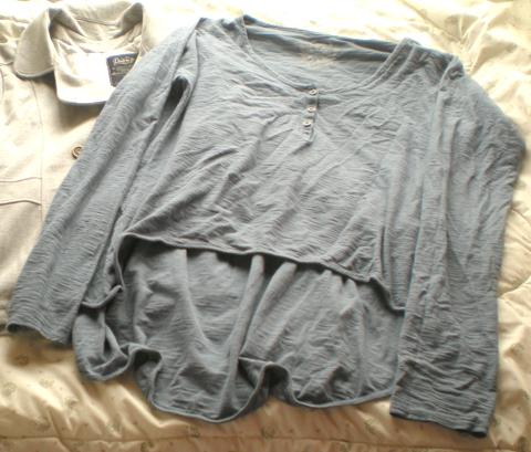 Blusa com modelagem mullet da Dzarm