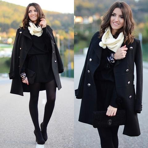 Look com trench coat e lenço para usar no inverno