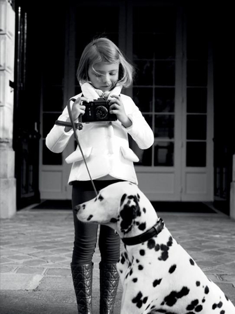 Campanha da Baby Couture: a linha infantil da Dior