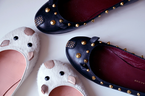 Mouse Flats by Marc Jacobs